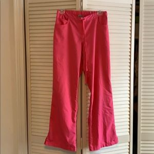 Greys anatomy pink scrub bottoms